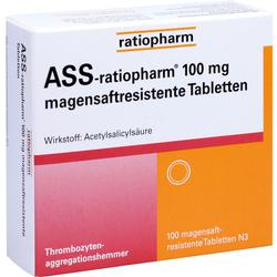 ASS RATIO 100MG MAGSAFTRES